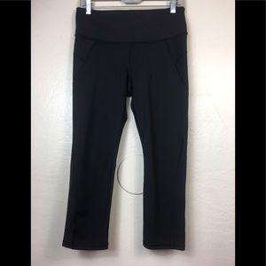 Athleta cropped pants tummy control medium